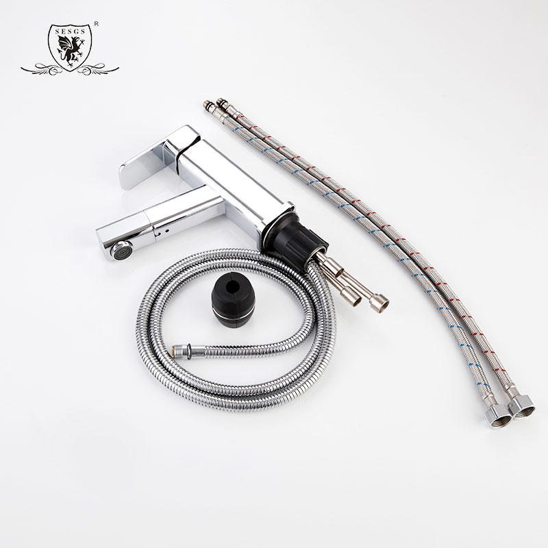 Pulling basin faucet  Square basin pull faucet 9523B
