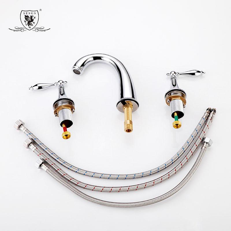 Split Basin Mixer Arc split basin faucet 33038