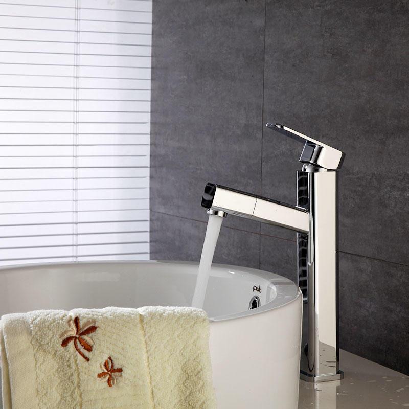 high basin pull faucet mixer tap 9523B